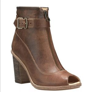 Timberland Women's Merge peep toe boot company